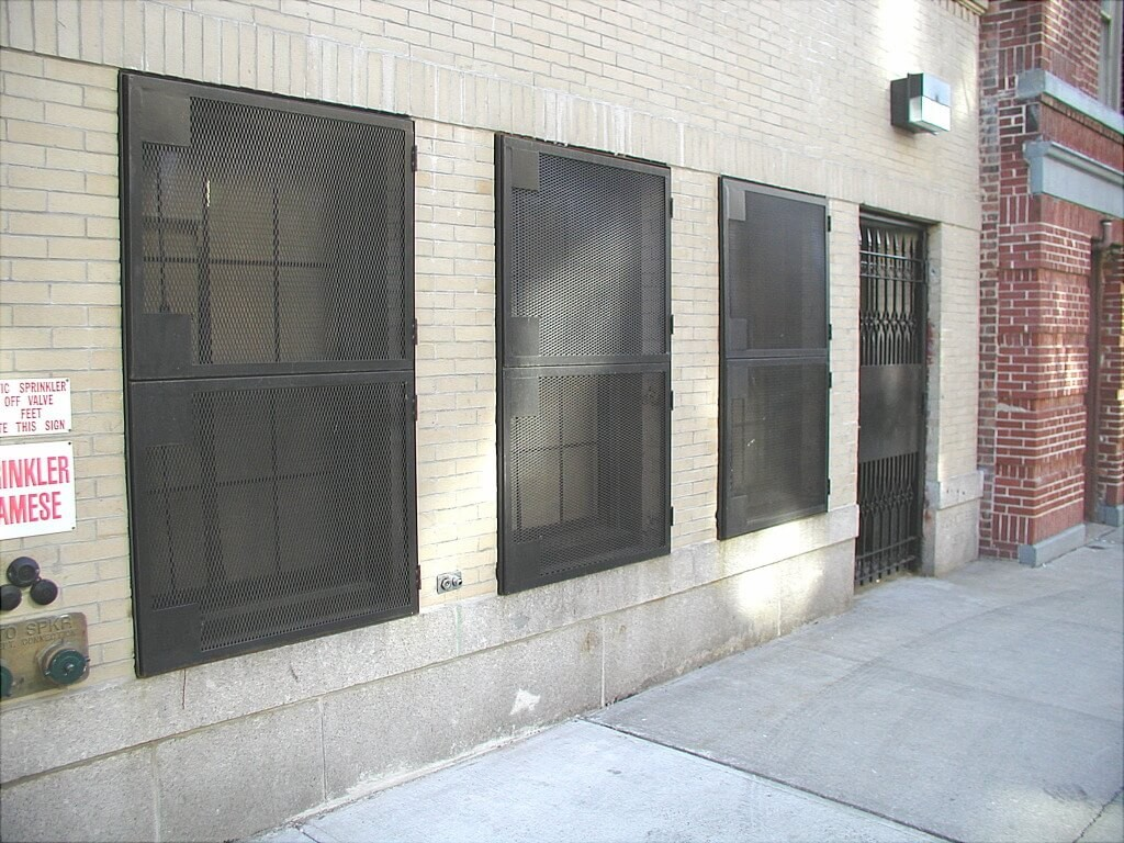 Commercial Window Guards City Steel Products #7A5751