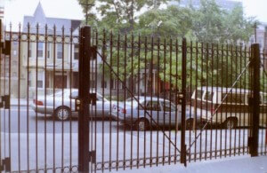 steel fences gates