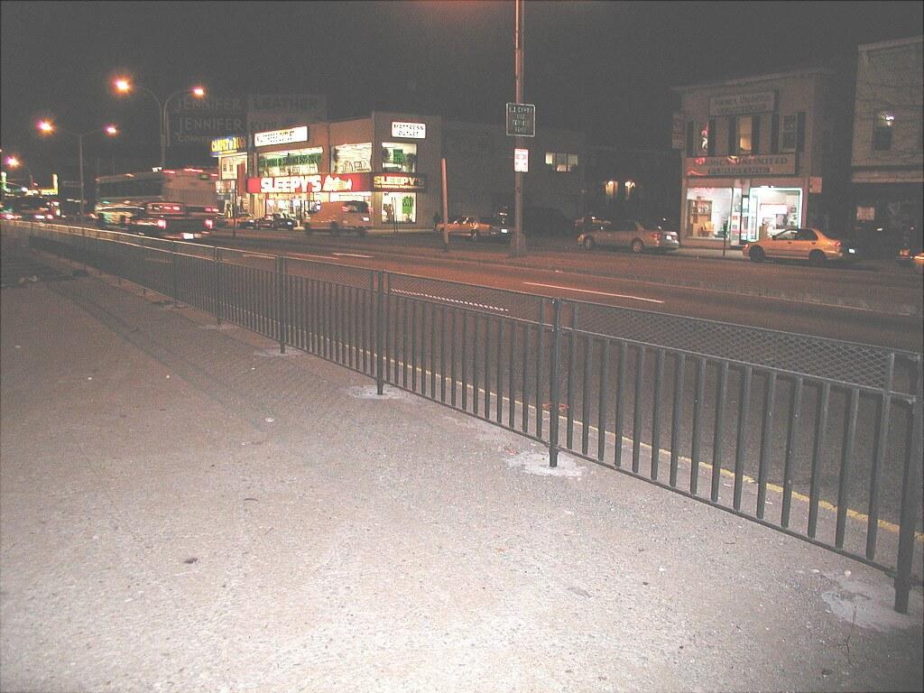 4 foot steelbard guardrail
