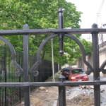 decorative fence steel