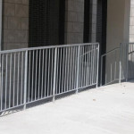 steel commerical fences guards