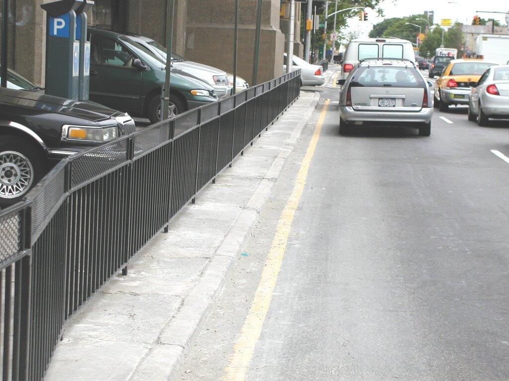 steel bar fence