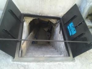 Sidewalk Cellar Doors City Steel Products