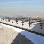 roof parapet rails