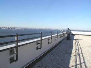 rooftop railings steel