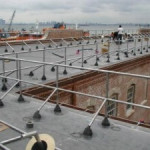 pipe roof parapat railings