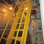 boiler room catwalk