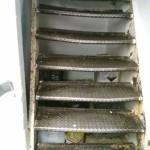 steel old damaged hazard