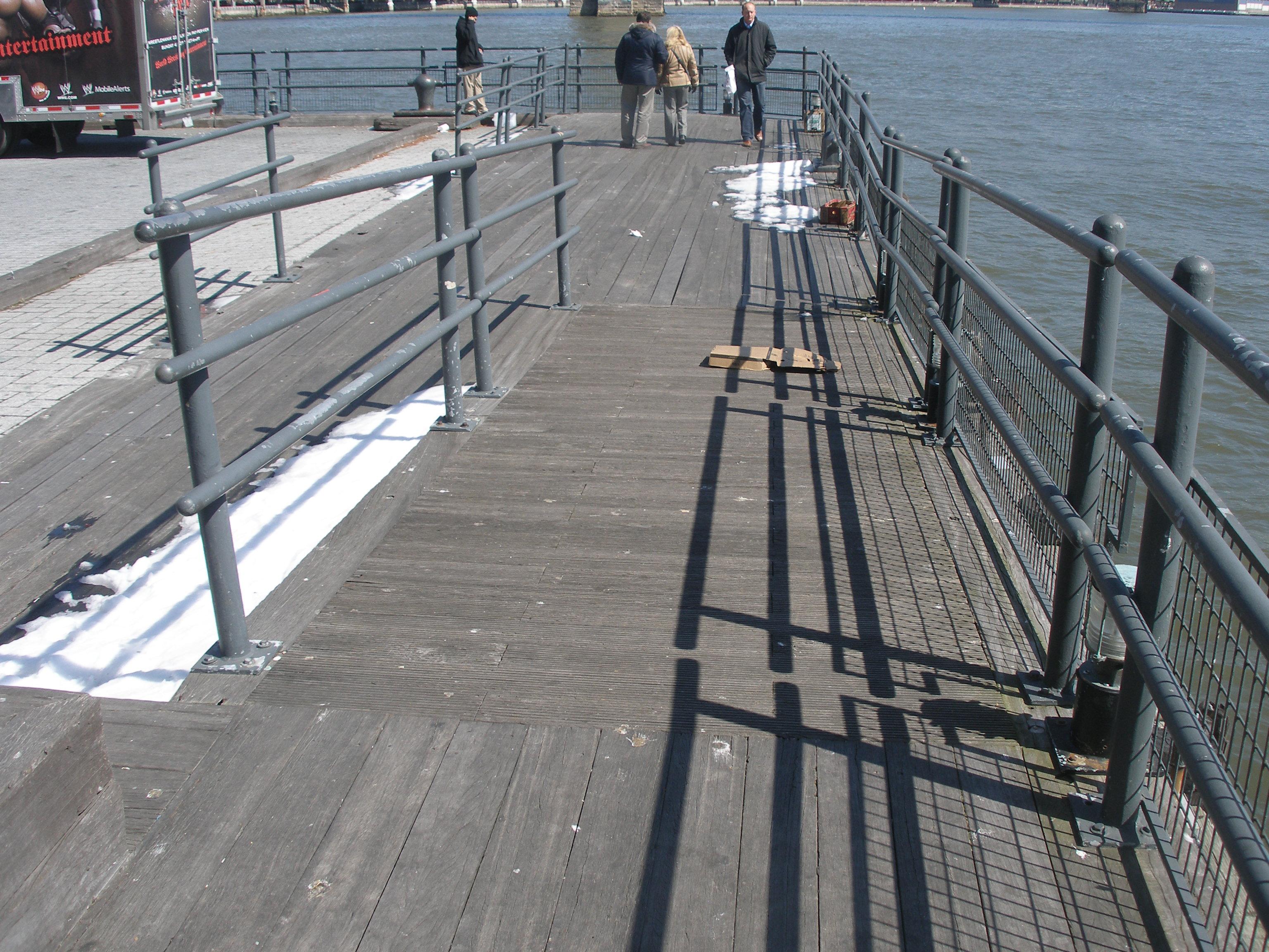 pier railings