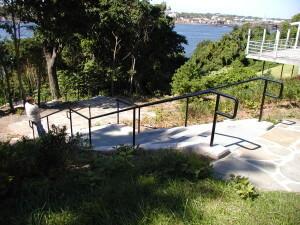 handrails pipe tubular