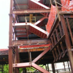 pan staircases landing structural
