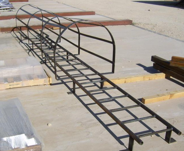 Fixed Roof Ladders | City Steel Products