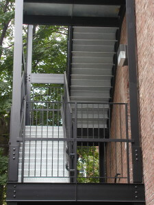 fire escape stairs outdoor