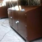 large steel bins
