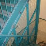 mesh staircase tube frame