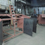steel structural bins