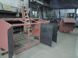 steel structural bins