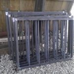 welded steel tube bar security