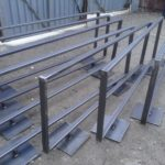tubular steel partition