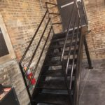 steel fabricated stair