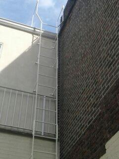 Roof Access Steel Ladder