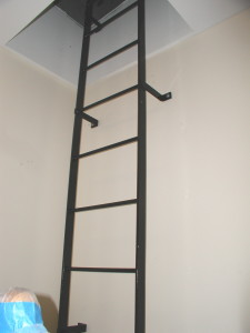 Steel Rooftop Access Ladder
