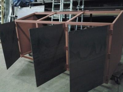 Steel Framework Garbage