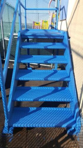 fire proof stairs utility access